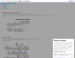 zonenux.jimdo.com screenshot