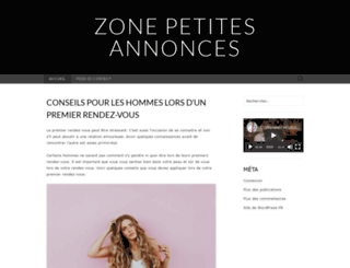 zonepetitesannonces.fr screenshot