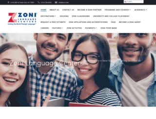 zoni.com screenshot
