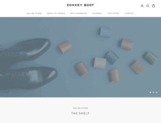 zonkeyboot.com screenshot