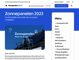 zonnepanelen-info.nl screenshot