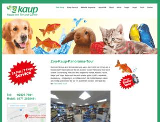 zoo-kaup.de screenshot