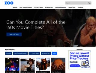 zoo.com screenshot