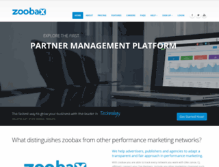 zoobax.com screenshot
