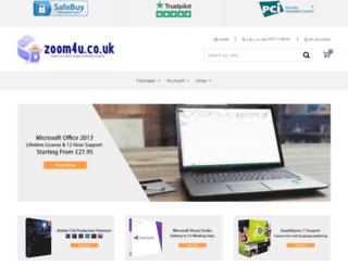 zoom4u.co.uk screenshot