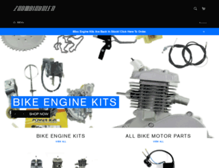 zoombicycles.com screenshot