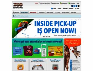 zooprinting.com screenshot