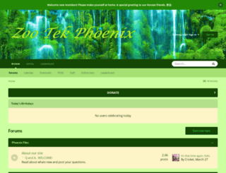 zootekphoenix.com screenshot