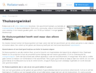 zorgpuntthuiszorg.nl screenshot