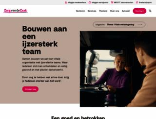 zorgvandezaak.nl screenshot
