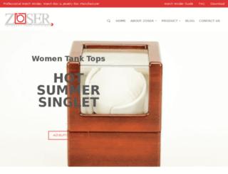 zoser-industries.com screenshot