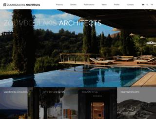 zoumboulakisarchitects.gr screenshot