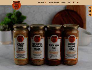 zoupbroth.com screenshot