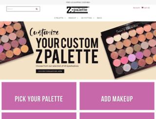 zpalette.com screenshot