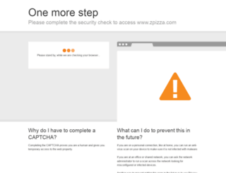 zpizza.com screenshot