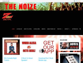 zrockfm.com screenshot