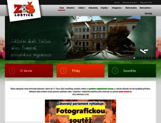 zslostice.eu screenshot