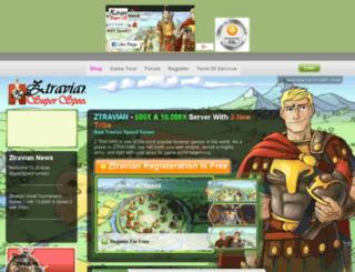 ztravian.com screenshot