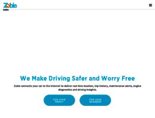 zubiecar.com screenshot