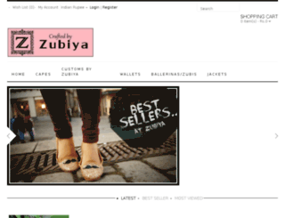 zubiya.com screenshot