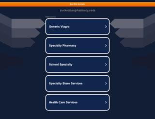 zuckermanpharmacy.com screenshot