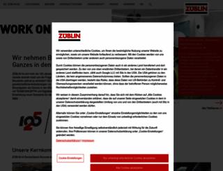 zueblin.de screenshot