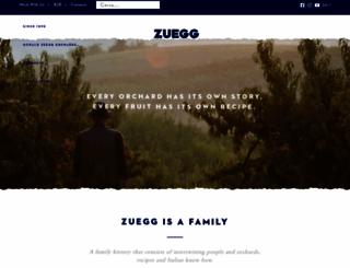 zuegg.com screenshot