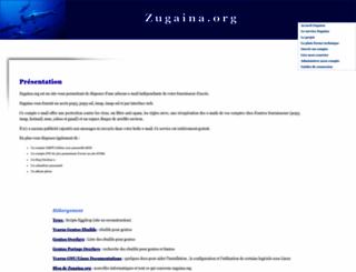 zugaina.org screenshot