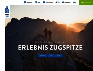zugspitzarena.com screenshot