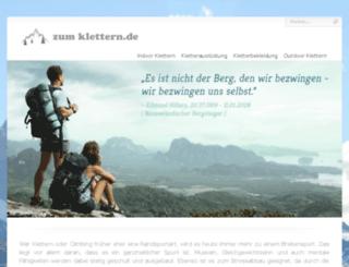 zum-klettern.de screenshot