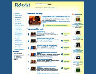 zuma.relaxlet.com screenshot