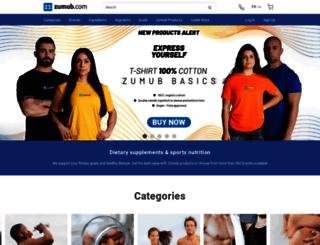zumbu.com screenshot