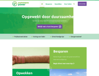 zummerepower.nl screenshot