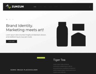zumzum.si screenshot