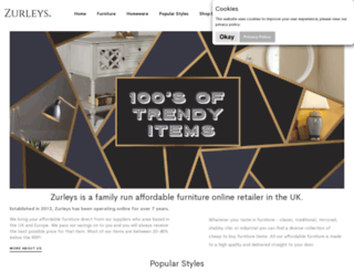 zurleys.co.uk screenshot