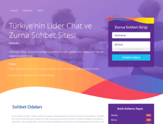 zurnasohbet.net screenshot