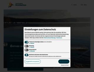 zv-brombachsee.de screenshot
