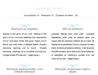 zyczenia24.info.pl screenshot