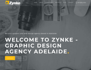 zynke.com.au screenshot