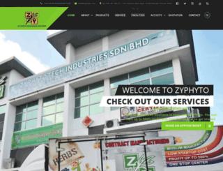 zyphyto.com screenshot