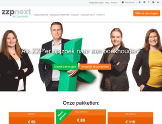zzp-next.nl screenshot