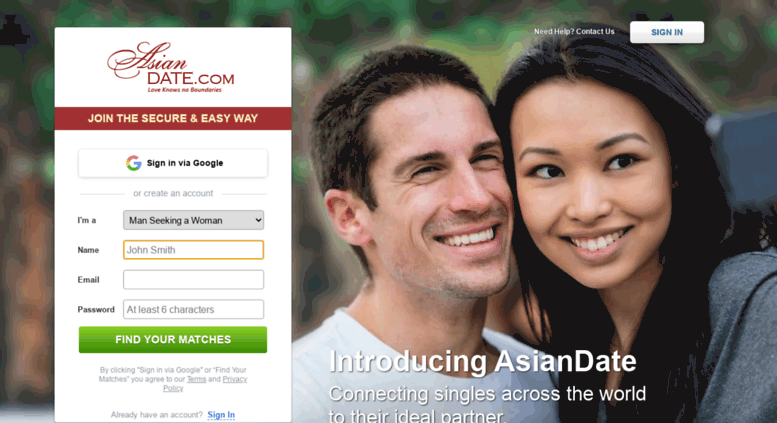 Dating love net access