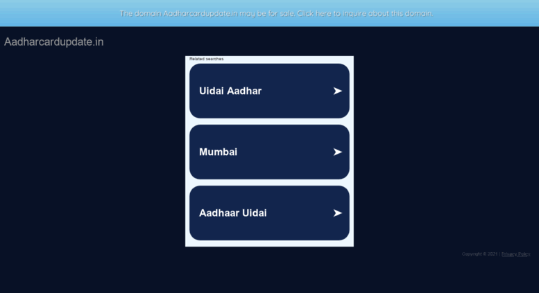 eaadhar gov in
