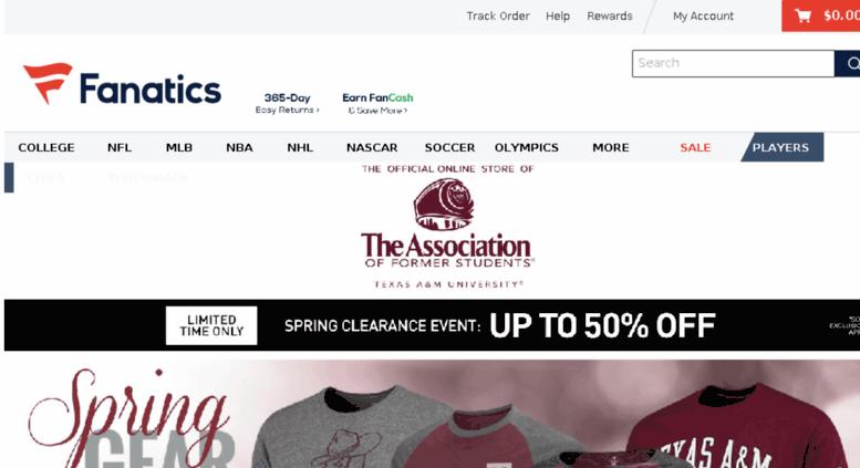 fanatics sports apparel store location