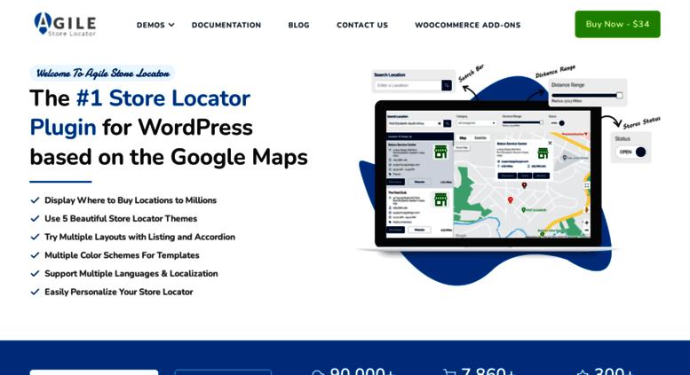 Access agilestorelocator.com. Agile Store Locator: the #1 Google ...