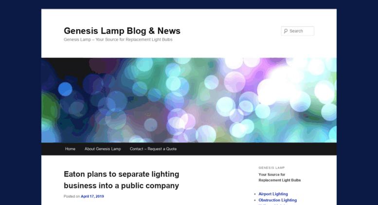 Access Airport Lighting.genesislamp.com. Genesis Lamp Blog U0026 News | Genesis  Lamp U2013 Your Source For Replacement Light Bulbs