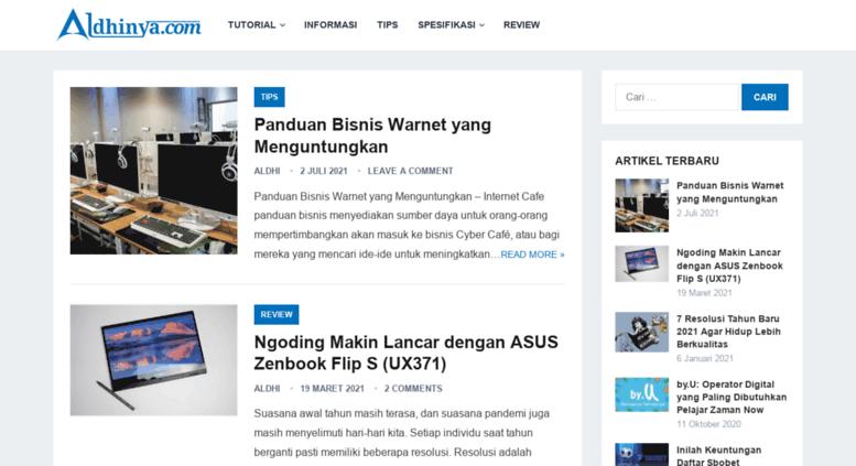 Access Aldhinya Com Aldhinya Web Berbagi Informasi Terbaru 2018