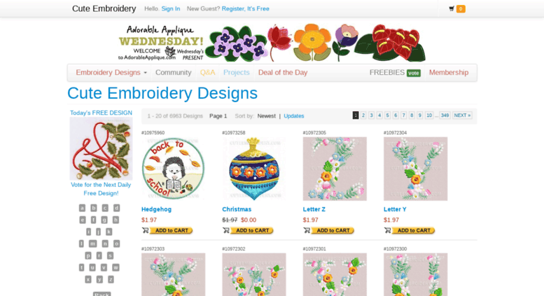Access Alphabetsteembroidery Free Embroidery Designs Cute