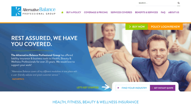 access alternativebalance net 1 yoga insurance fitness insurance