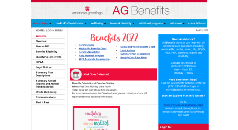Access americangreetingsbenefits american greetings benefits americangreetingsbenefits screenshot m4hsunfo